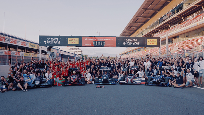 #FormulaStudentGestamp teams at Montmeló