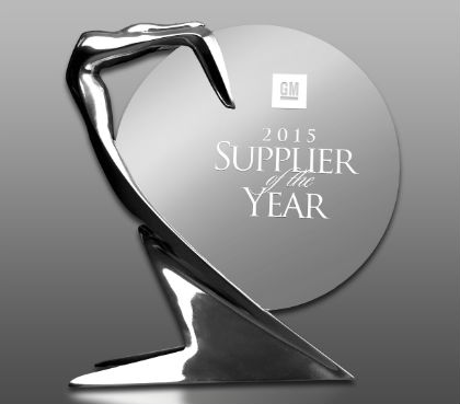 Gestamp was named a GM Supplier of the Year.