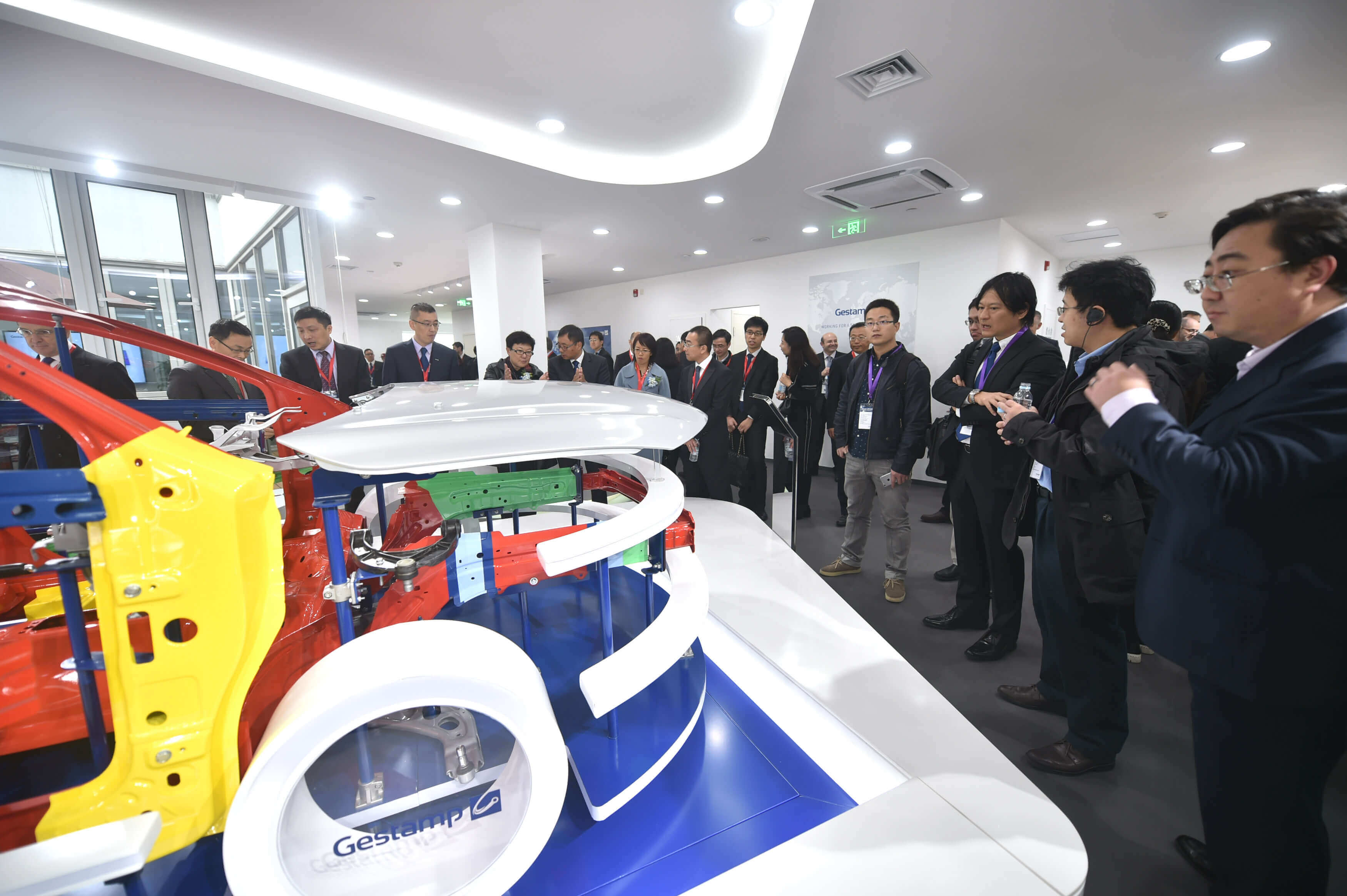Gestamp inaugurates a new R&D center in Shanghai